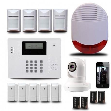 Syst me d 39 alarme maison sans fil avec cam ra ip orum ka540v for Alarmes pour maison