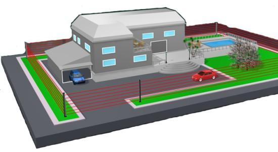 s curit tout savoir sur les barri res infrarouges maison alarme blog. Black Bedroom Furniture Sets. Home Design Ideas